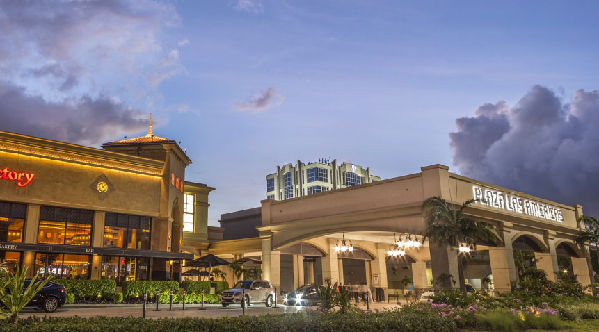 San Juan's Plaza Las Americas, the largest shopping mall in the Caribbean.