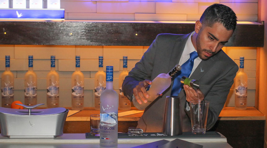 Brava Grey Goose Bar at El San Juan Hotel & Casino.