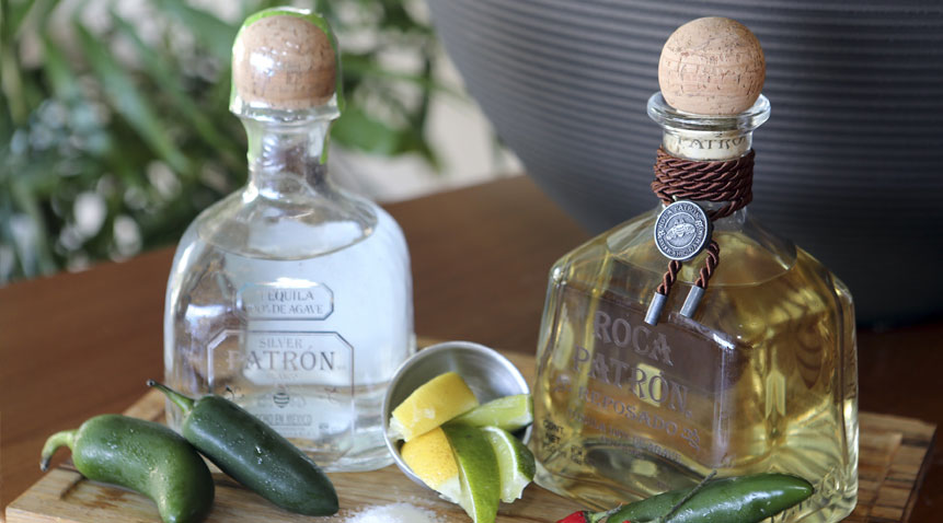Tacos & Tequila ups the ante with the Patron Roca lines of tequilas.