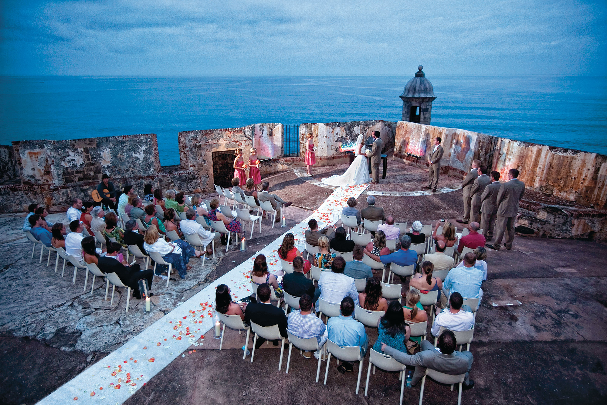 Wedding at El Morro