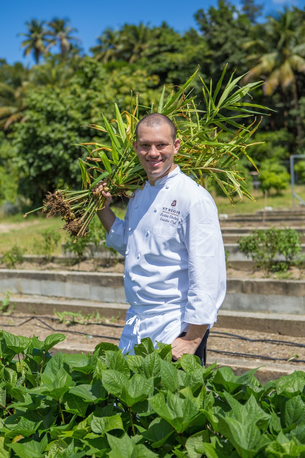 Executive Chef Gustavo Sanchez of Fern at the St. Regis Bahia Beach Resort in Rio Grande says he selects dishes that appeal to diners and tweaks the recipe to give it a local twist.