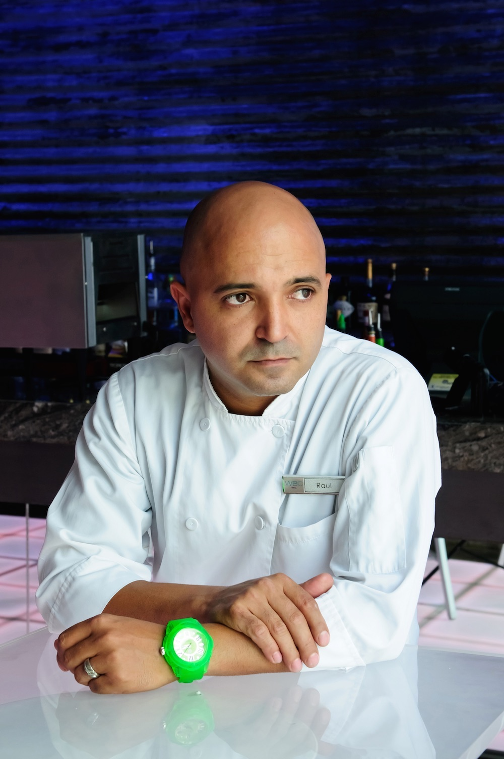 Chef Raul Correa is the creative talent behind Zest restaurant at the San Juan Water and Beach Club in Isla Verde.