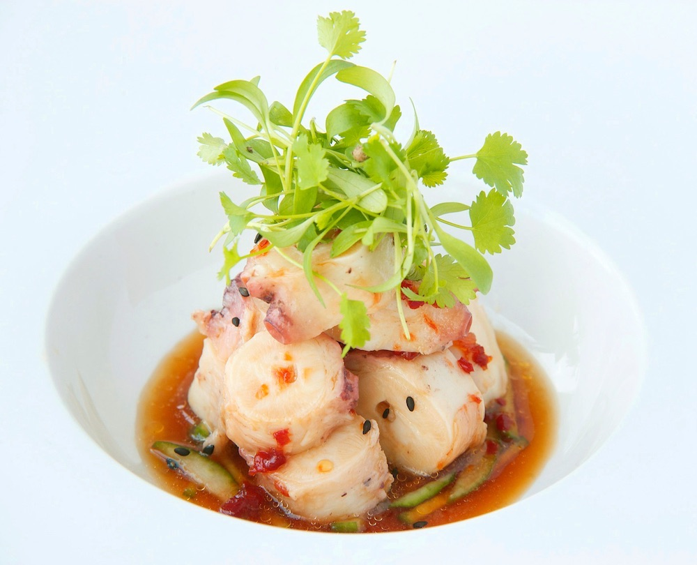 "Chef Wilo Benet's culinary style is described as ""contemporary global cuisine."""