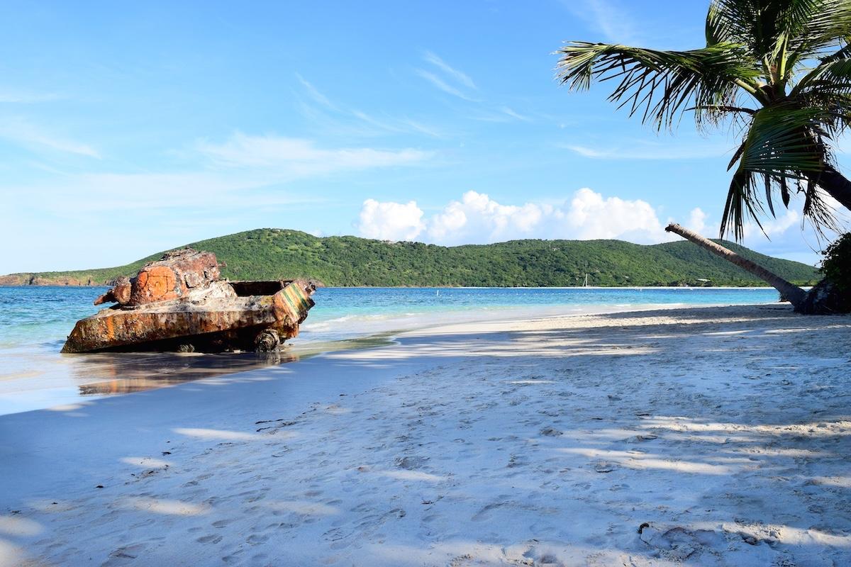 Puerto Rico Culebra Tank Beach