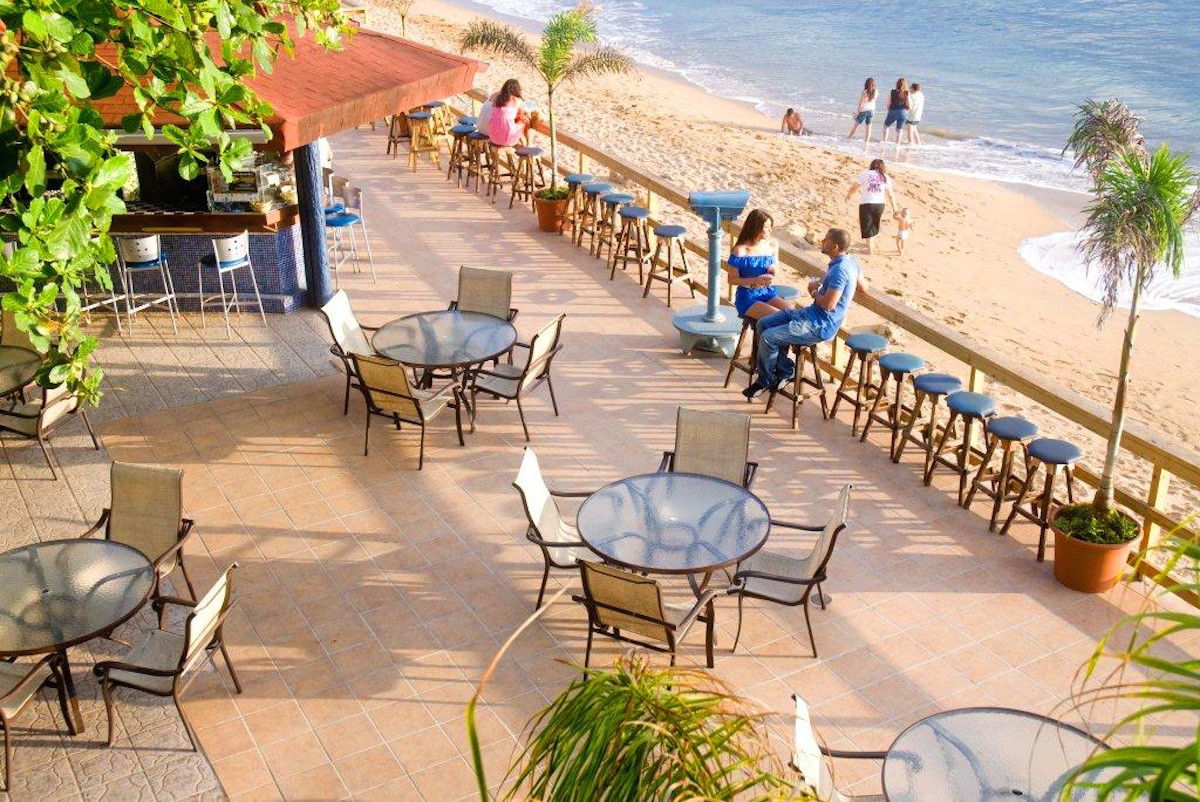 Puerto Rico El Bohio Bar Villa Cofresi