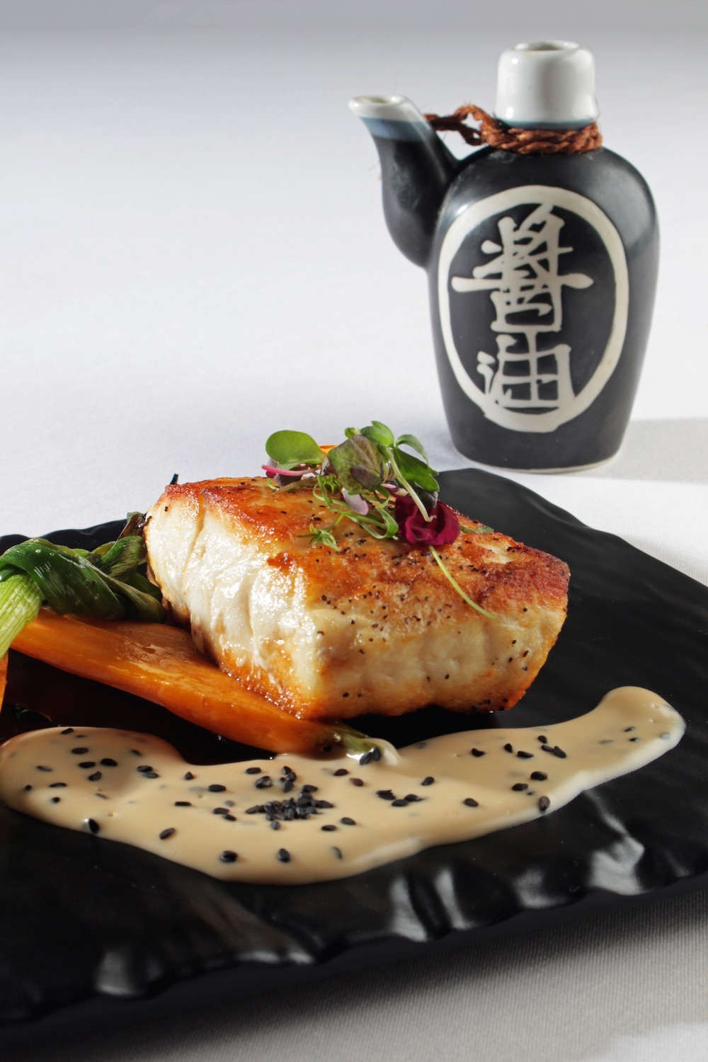 Gabriel Rivera, executive chef of SAK-I at the InterContinental San Juan Hotel, features dishes based on Thai, Japanese, and Chinese cuisine.