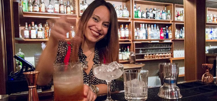 At Bar La Unidad, its well-tailored bartenders expertly craft signature cocktails.
