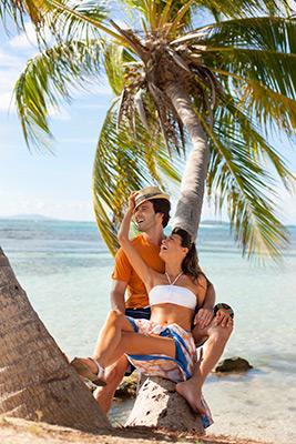 Palomino Island, an idylic private island of El Conquistador Resort, A Waldorf Astoria Resort in Fajardo.