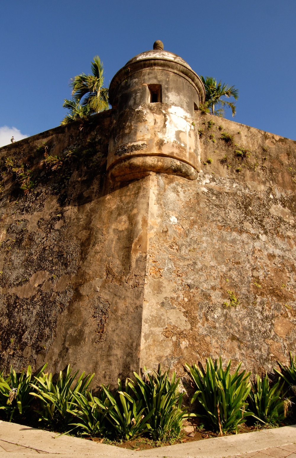 Old San Juan Bastion Sentry Box, San Juan, Puerto Rico