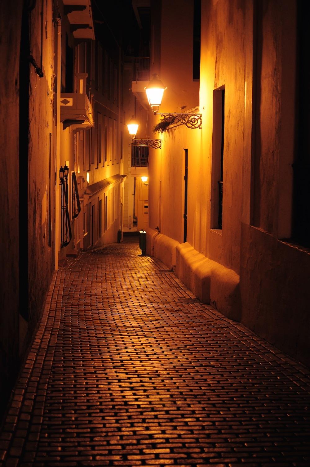 Old San Juan Chapell Alley, San Juan, Puerto Rico