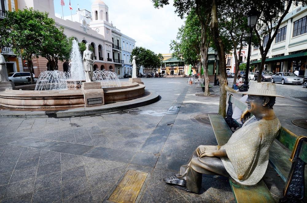 Plaza de Armas, Old San Juan, PR