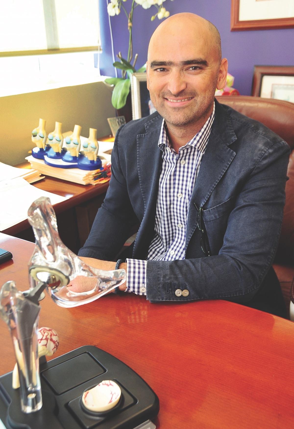 Dr. Ricardo Jesus Reina Sanabria, president of the Puerto Rican Society of Orthopedics and Traumatology.
