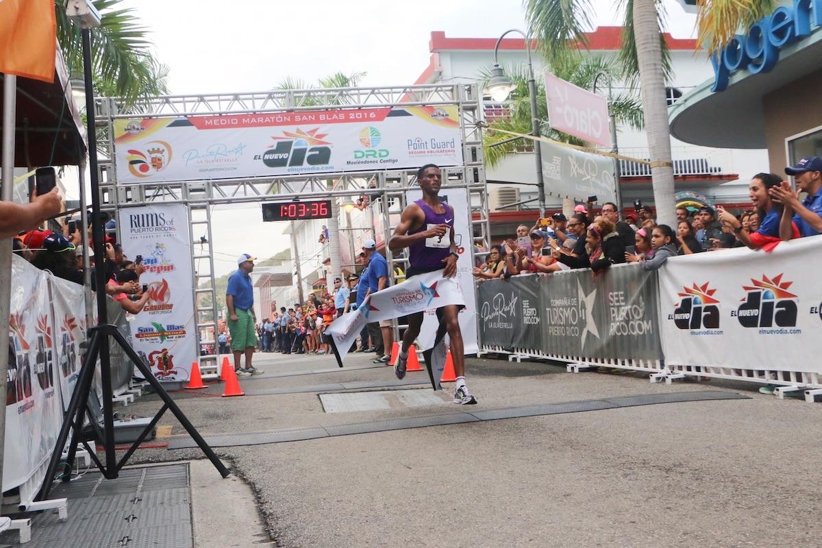 Puerto Rico San Blas Marathon, Coamo, Puerto Rico
