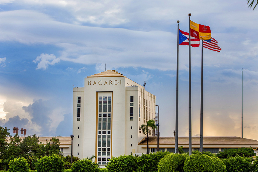 Bacardi's distillery is located in the seaside town of Cataño that proudly proclaims itself home to the globe's best-selling premium spirit.