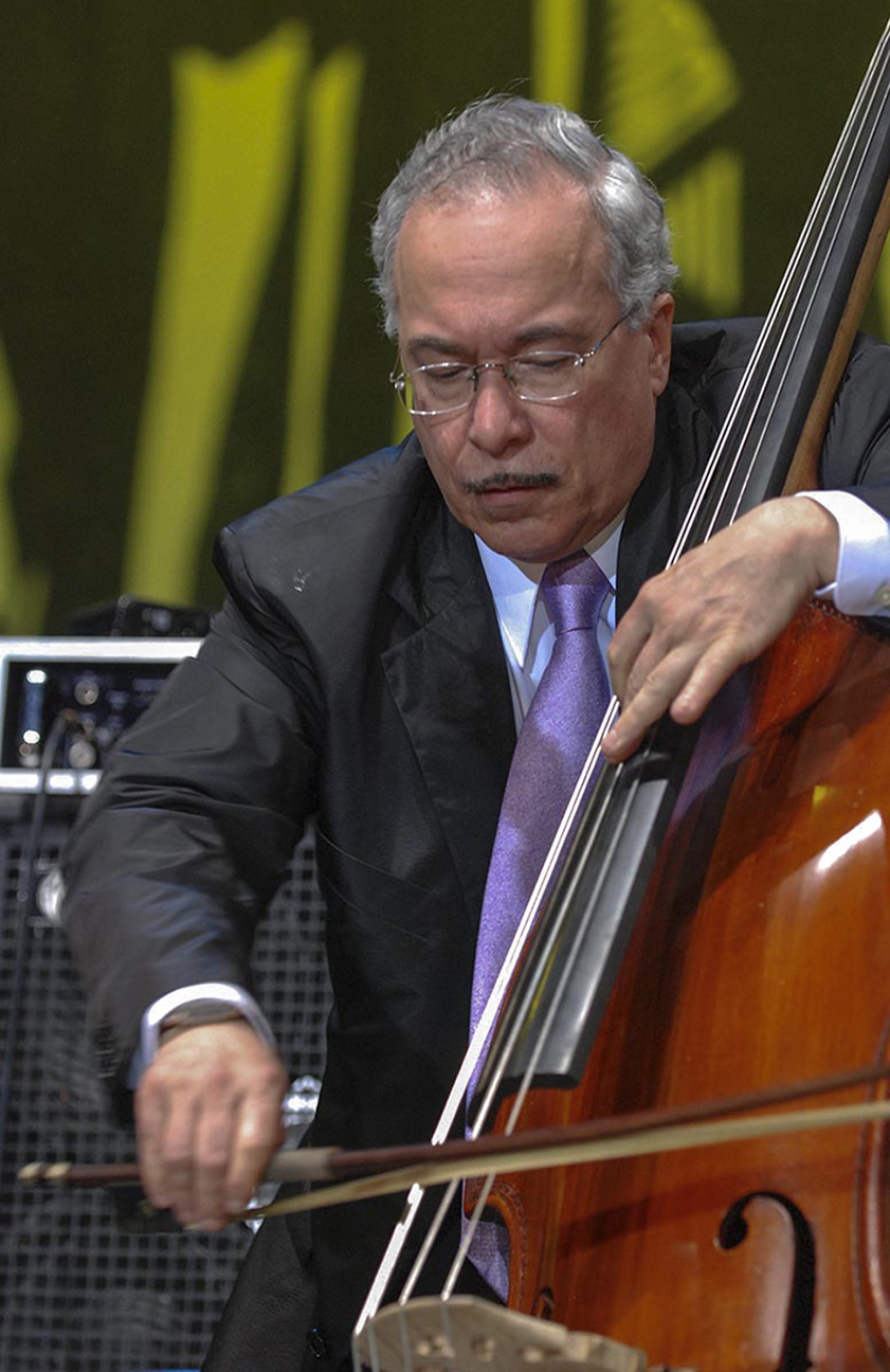 Legendary bassist and two-time Grammy winner Eddie Gomez.
