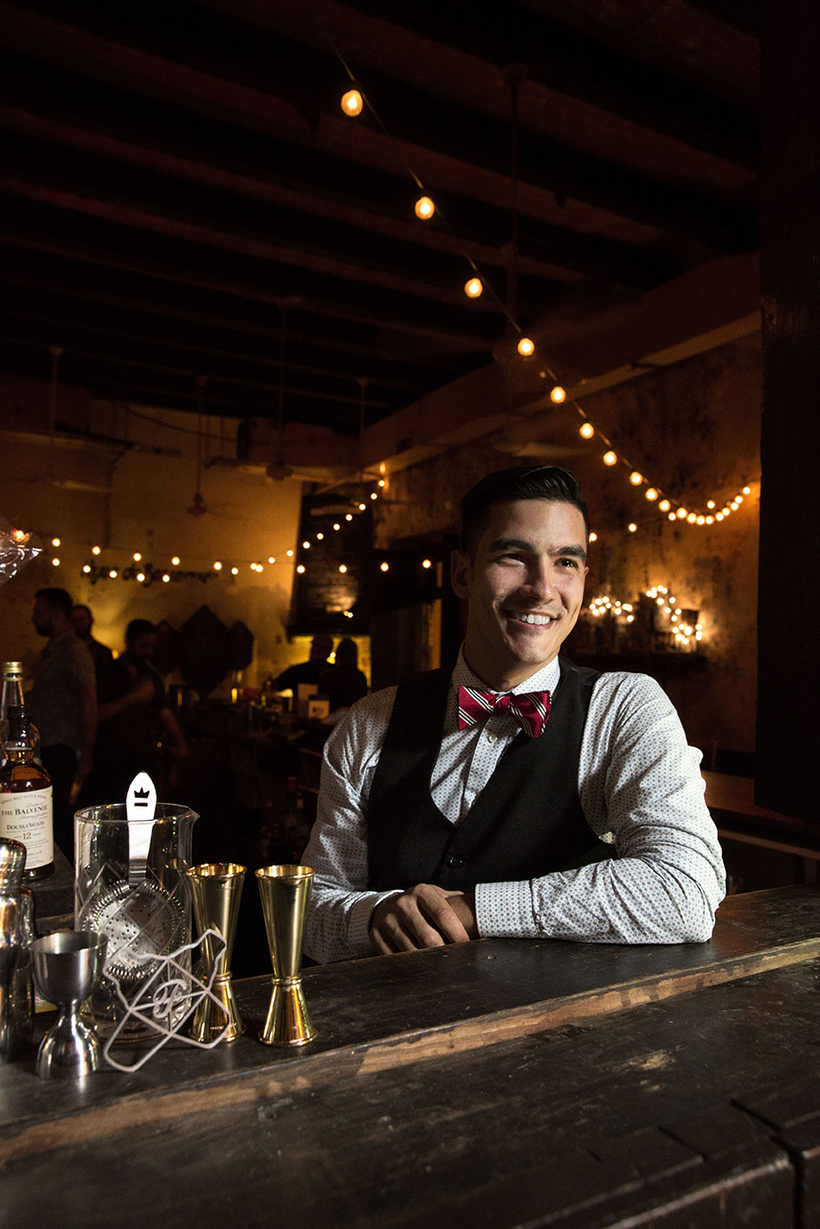 Roberto Berdecia from La Factoria in Old San Juan was named Bartender of the Year 2017 by the 