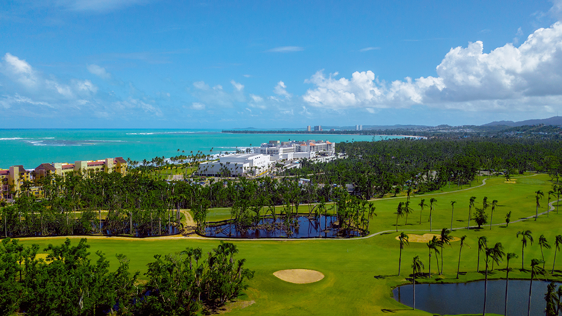 Wyndham Grand Rio Mar Golf Club has two 18 Hole Courses in Rio Grande