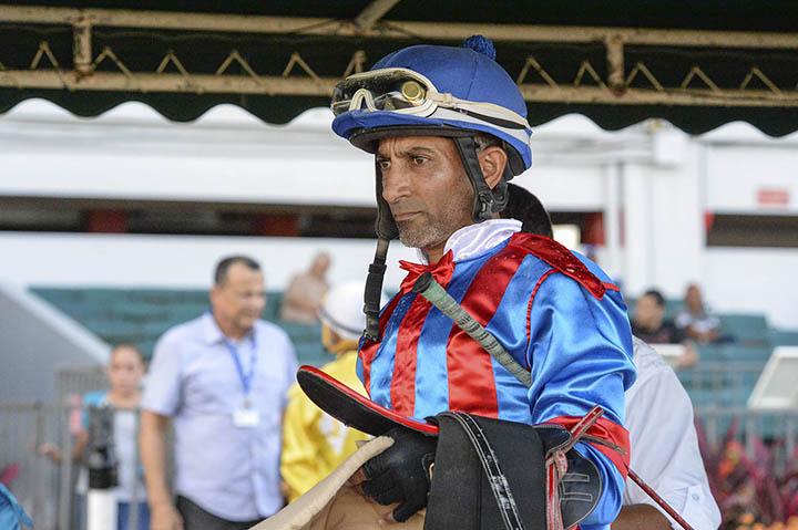 Jockey Hector Berrios