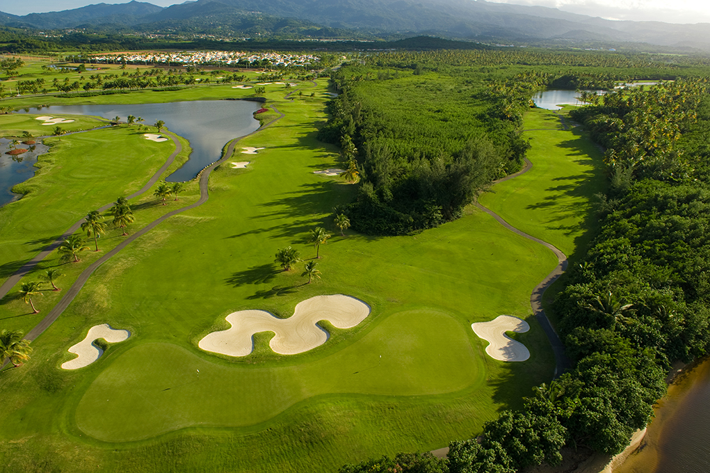 One of Puerto Rico's best golf courses at Coco Beach in Rio Grande, designed by PGA Tour professional, Tom Kite.