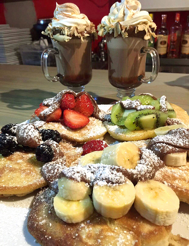 The menu at Café Bistro in Isla Verde satisfies those with a sweet tooth or a salty side.