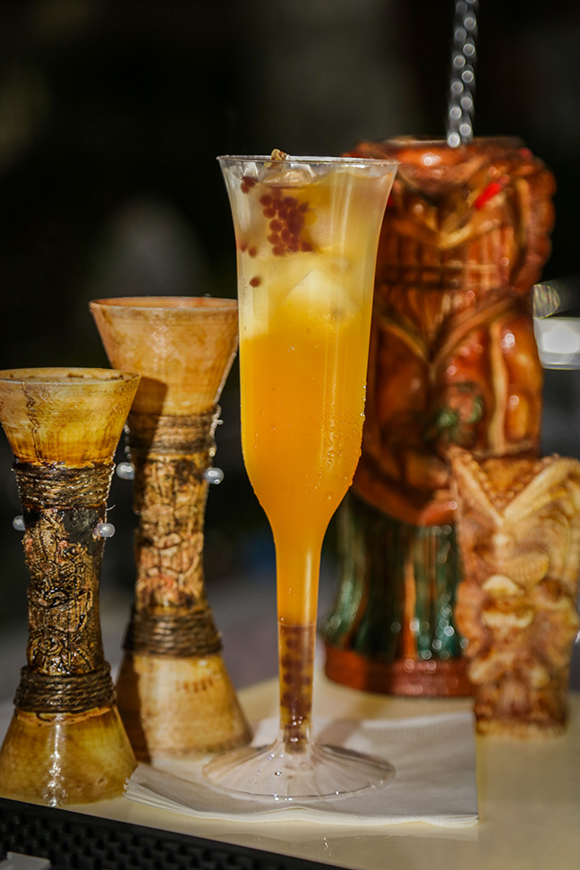 Tiki cocktails are in like Hurricanes, Mai Tais, and Planter's Punch.