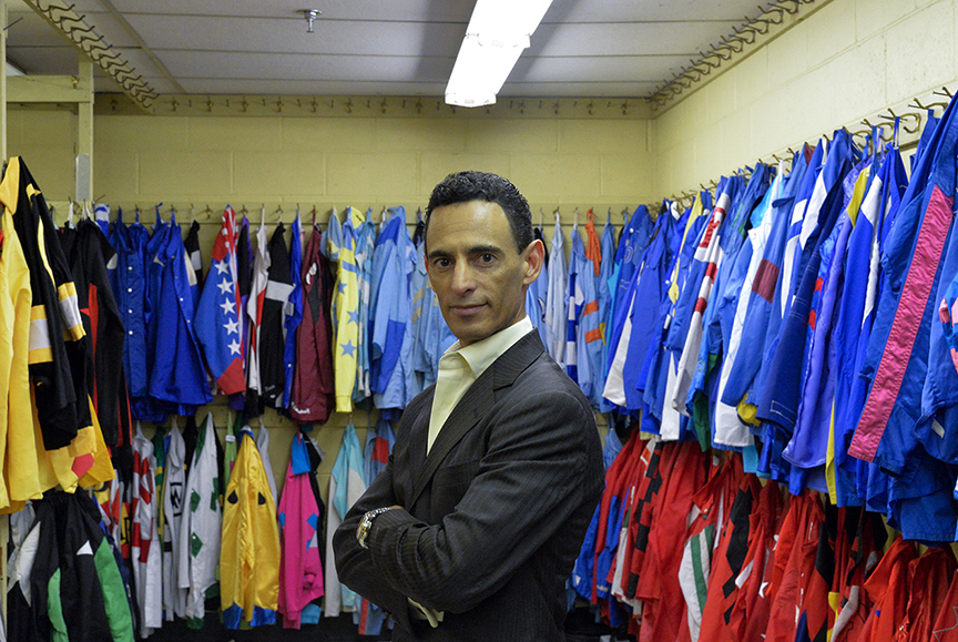 Jockey John Velazquez is one of Puerto Rico's superstar in the horse racing scene.