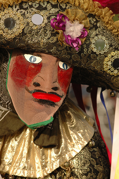 Masks have always fascinated people and Puerto Rico's caretas certainly stand out for their flamboyance and wild colors.