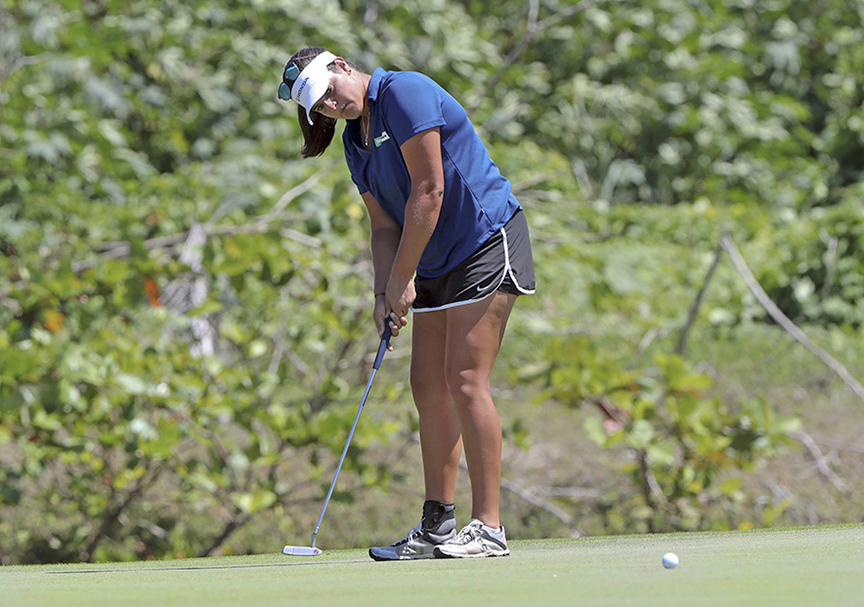 "Maria ""Marife"" Torres, the first Puerto Rican to play full time in the LPGA."