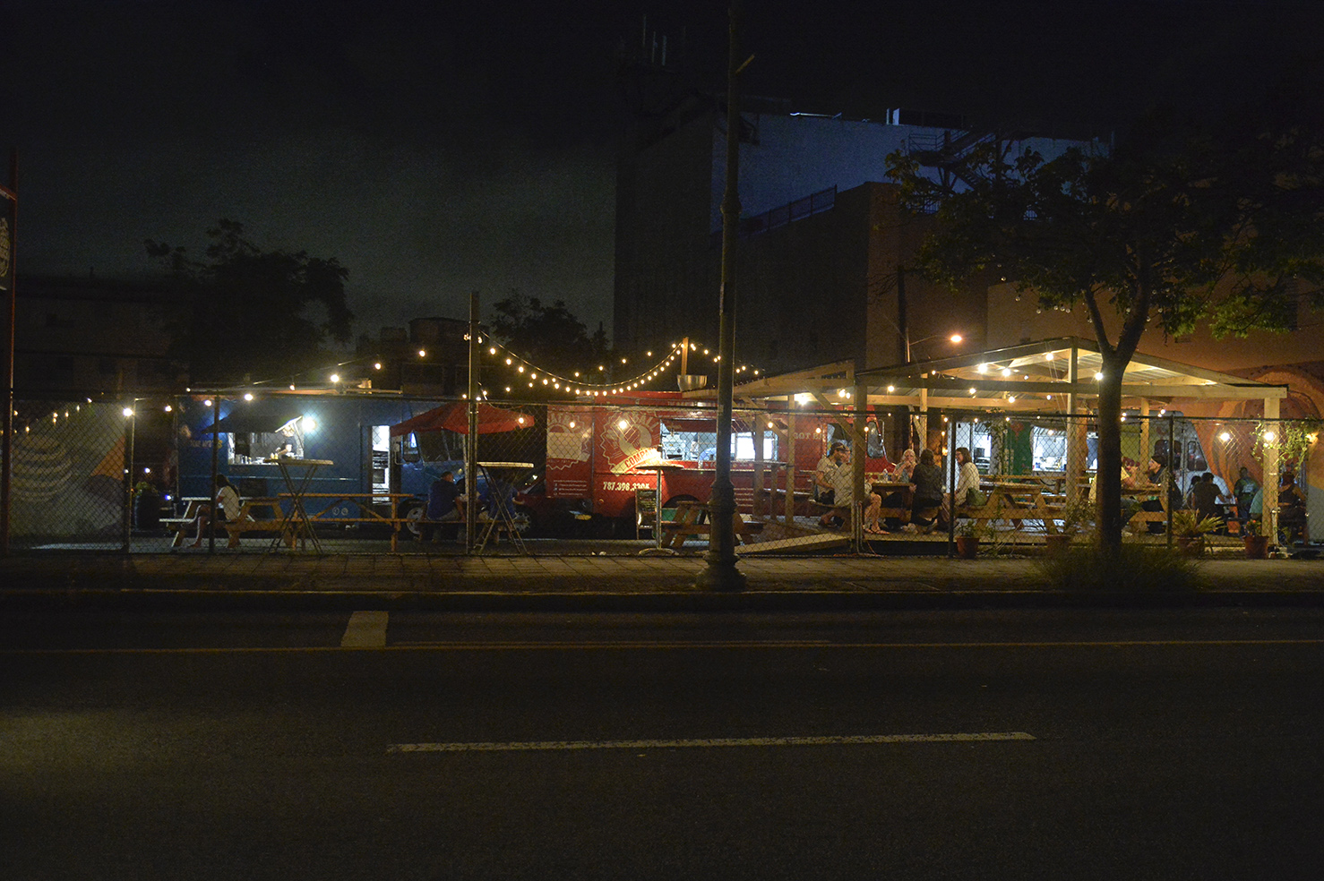Miramar Food Truck Park opens every Wednesday, Thursday, Friday, Saturday and Sunday.
