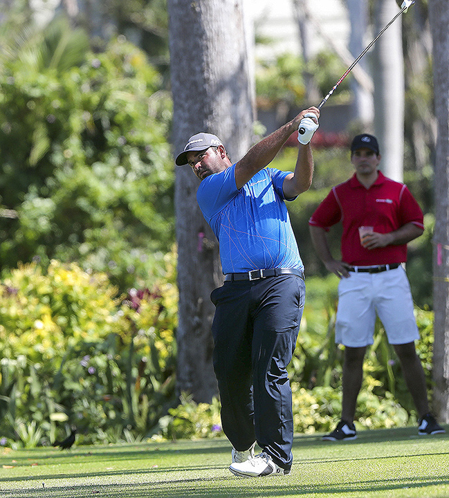 "Rafael "" Rafa"" Campos, the first Puerto Rican to lead a PGA Tour event since the 1979 Tallahassee Open."