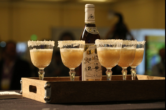 Award-winning cocktail, Sand Break is made with 3 Star Barrilito Rum.