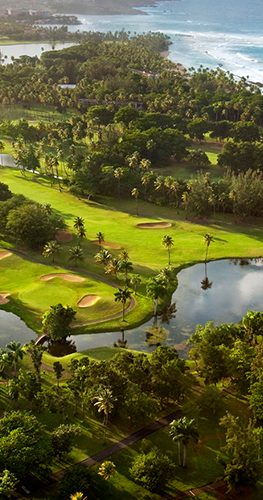 The Dorado Beach Plantation Sugarcane Course.
