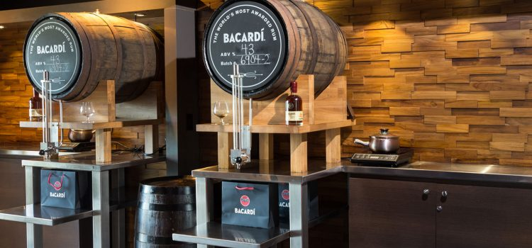 Bacardi's aging barrels. Bienvenidos Magazine