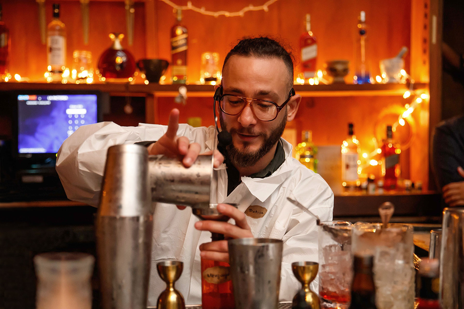 Luis Pagan from La Coctelera won the 2018 World Class Bartender Puerto Rico Competition.