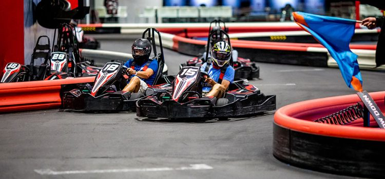 The Outlet 66 Mall in Canovanas features Puerto Ricoís as well as the Caribbeanís first K1 Speed facility, indoor, electric go-karts, single track.
