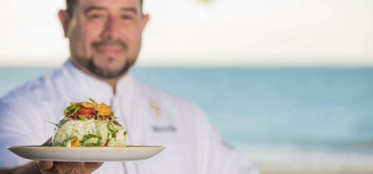 Gonzalo Rivera, executive chef of El San Juan Hotel in Isla Verde.