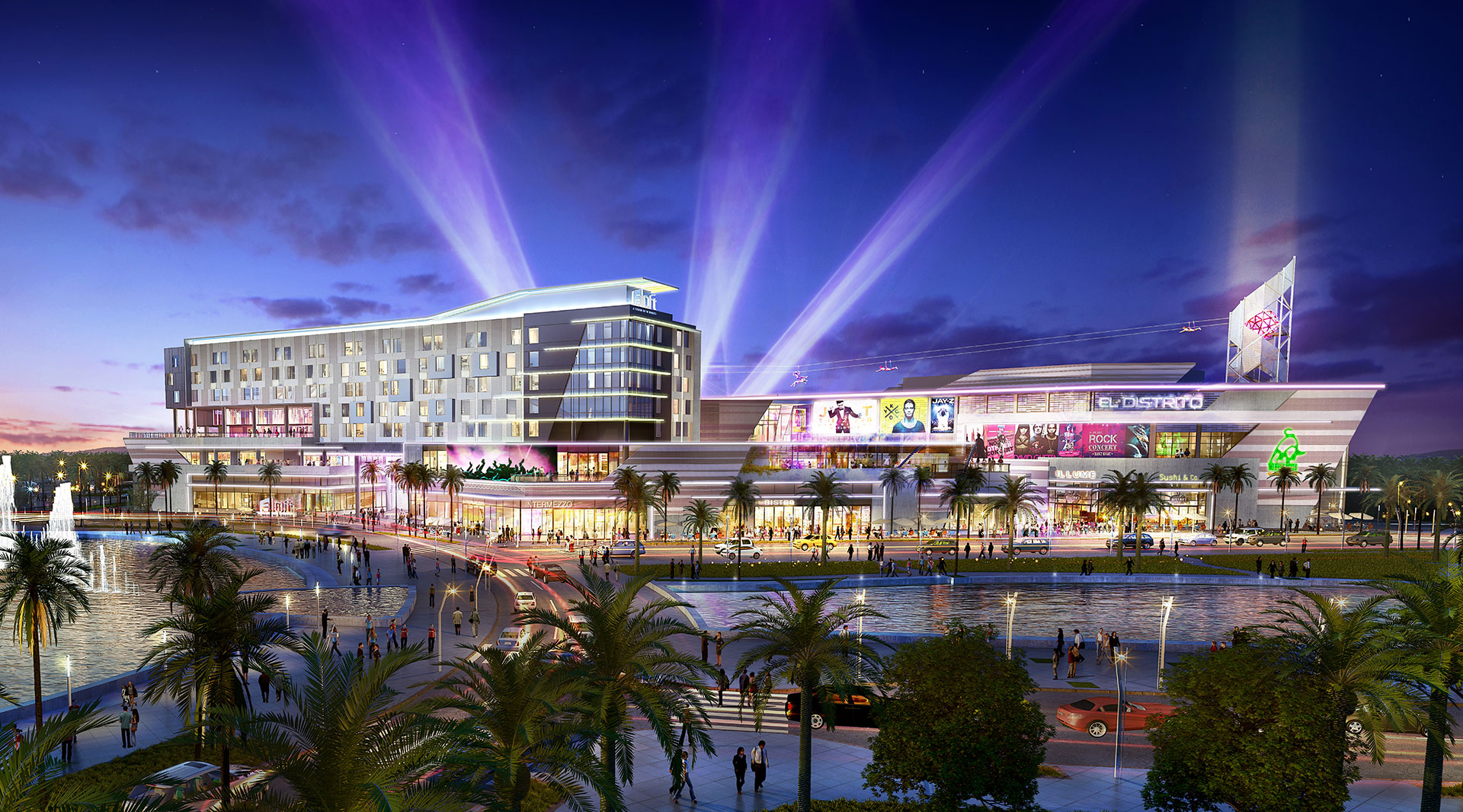 District Live! is a multi-million dollar innovative entertainment center being developed next to the Convention Center in San Juan.