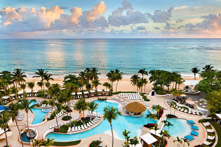 El San Juan Hotel in Isla Verde Beach was voted the Best Urban Beach in the U.S.