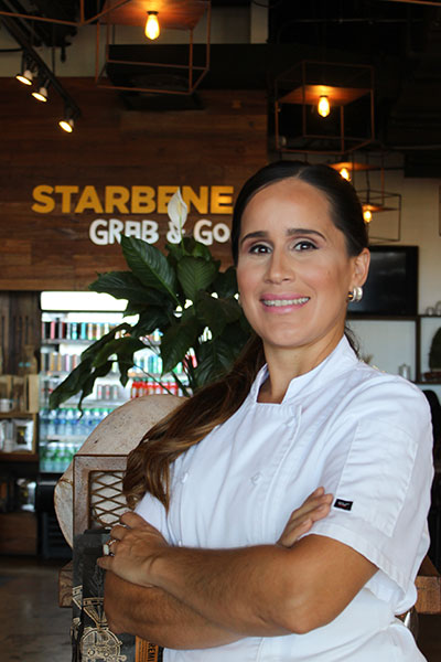 Xiomara Bermudez is the Pastry Chef at Il Nuovo Mercato's Starbene Caffe.