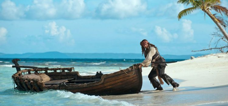 "Johnny Depp's ""Pirates of the Caribbean"" series dropped anchor on the pristine coasts of one of our tiny islets, Palominito"