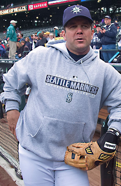 Edgar Martinez was inducted to Cooperstown.