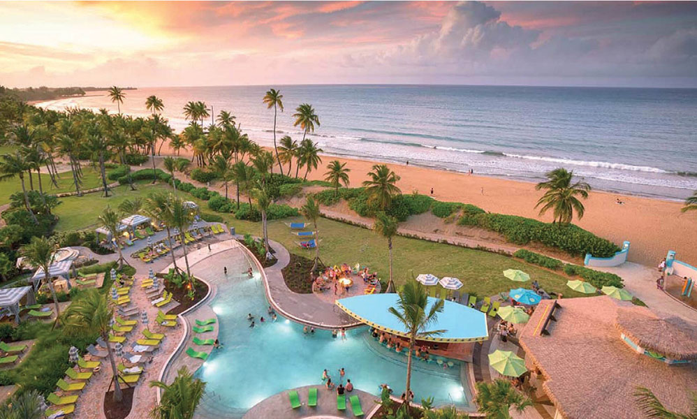 Wyndham Grand Rio Mar Puerto Rico Golf & Beach Resort underwent a multi-million-dollar renovation.