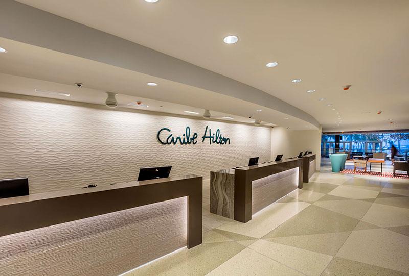 Caribe Hilton - Front Desk
